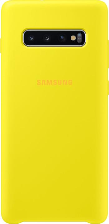 Silicone Cover Yellow Custodia Samsung 785300142476 N. figura 1