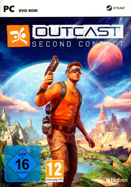 PC - Outcast - Second Contact Fisico (Box) 785300128887 N. figura 1