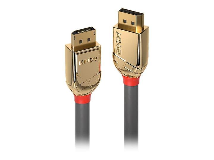DisplayPort 1.4 Cavo, Gold Line 3m Cavo LINDY 785300141543 N. figura 1