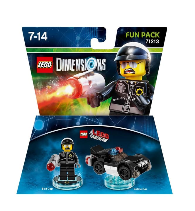 "LEGO Dimensions Fun Pack LEGO Movie ""Bad Cop"" Physique (Box) 785300119841 Photo no. 1"