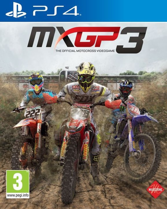 PS4 - MXGP 3 - The Official Motocross Videogame Box 785300122198 Bild Nr. 1