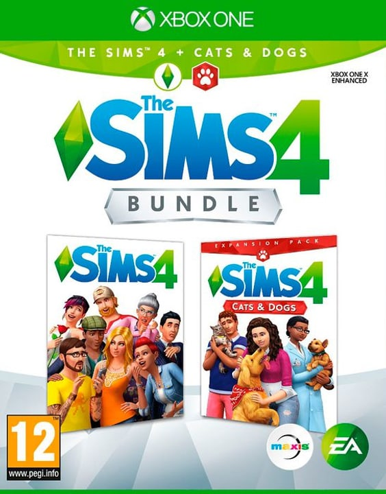 Xbox One - The Sims 4 - Cats & Dogs Bundle Box 785300139903 Bild Nr. 1