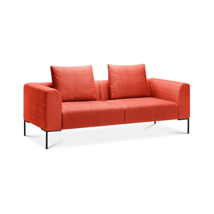 CATHIE 2.5er Sofa 366146825330 Farbe Rot Grösse B: 208.0 cm x T: 97.0 cm x H: 94.0 cm Bild Nr. 1