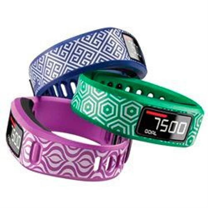 Vivofit 2 bracelet Small bleu, violet, vert Garmin 785300125473 Photo no. 1
