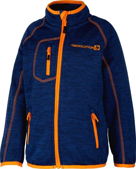 Veste powerstretch pour garçon Trevolution 472356609222 Couleur bleu foncé Taille 92 Photo no. 1