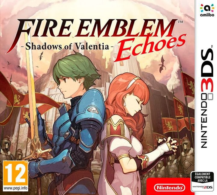 3DS - Fire Emblem Echoes - Shadows of Valentia Box 785300122273 N. figura 1