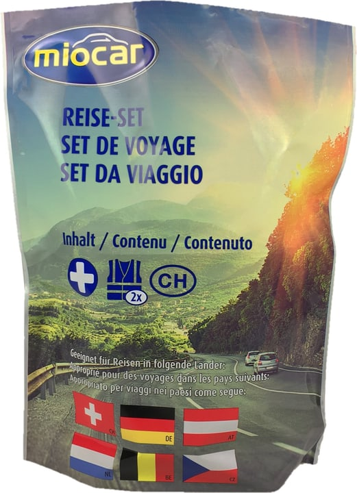 Set de voyage Pharmacie Miocar 620552500000 Photo no. 1