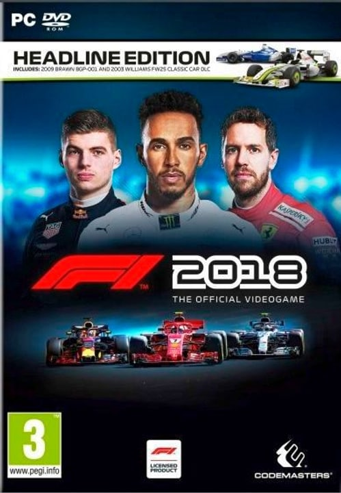 PC - F1 2018 Headline Edition  (I) Box 785300136065 Photo no. 1