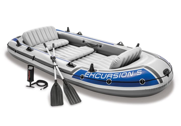 Image of Intex Excursion 5 Boat Set Boot / Schlauchboot