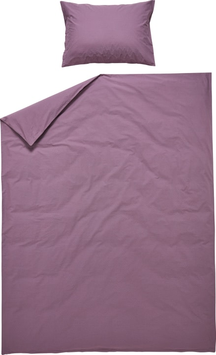 FABIAN Perkal-Duvetbezug 451289912345 Farbe Violett Grösse B: 160.0 cm x H: 210.0 cm Bild Nr. 1