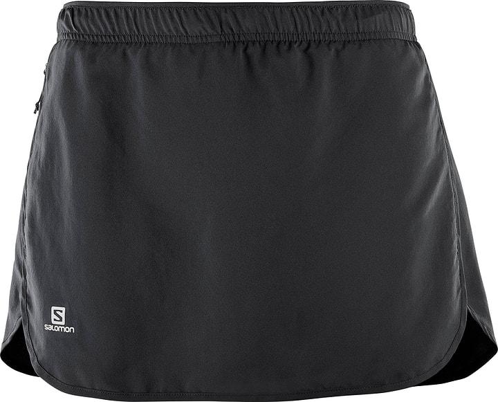 Agile Skort W Damen-Skort Salomon 470174600320 Farbe schwarz Grösse S Bild-Nr. 1