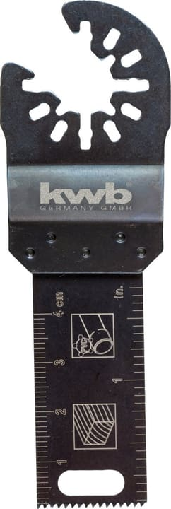 Lame scie plongeante bois 22 mm kwb 610515700000 Photo no. 1
