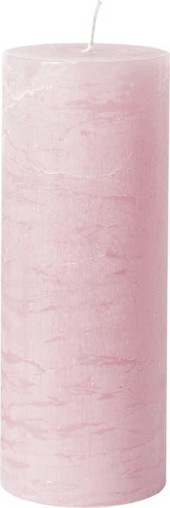 BAL Bougie cylindrique 440582900938 Couleur Rose Dimensions H: 18.0 cm Photo no. 1