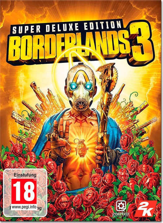 PC - Borderlands 3 Super Deluxe Edition Download (ESD) 785300147318 Photo no. 1