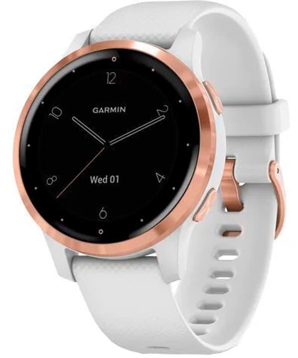 VIVOACTIVE 4S Blanc/or rose Smartwatch Garmin 785300149702 Photo no. 1