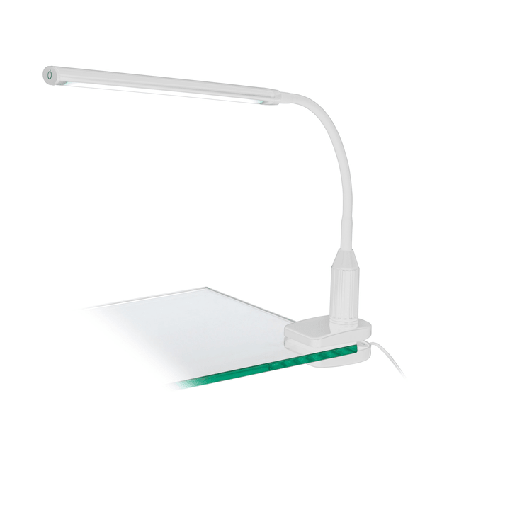 LED lampada tavolo con pinza Laroa, bianco Eglo 615060300000 N. figura 1