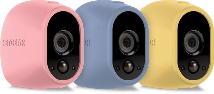 VMA1200C Arlo Cover silicone rosa, azzurro, giallo Netgear 785300124243 N. figura 1