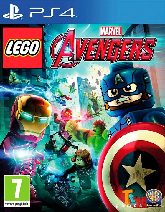 PS4 - LEGO Marvel Avengers D Box 785300122559 N. figura 1
