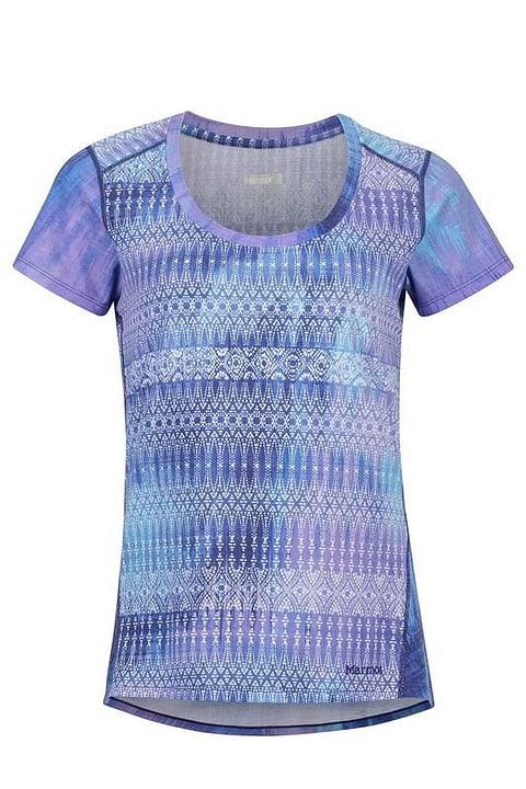 Logan T-shirt à manches courtes pour femme Marmot 462775700422 Couleur bleu foncé Taille M Photo no. 1