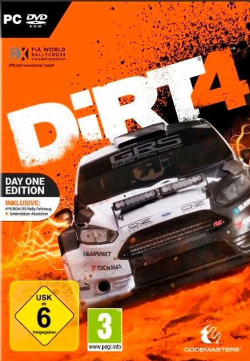 PC - DiRT 4 Steelbook Edition D Physique (Box) 785300132045 Photo no. 1