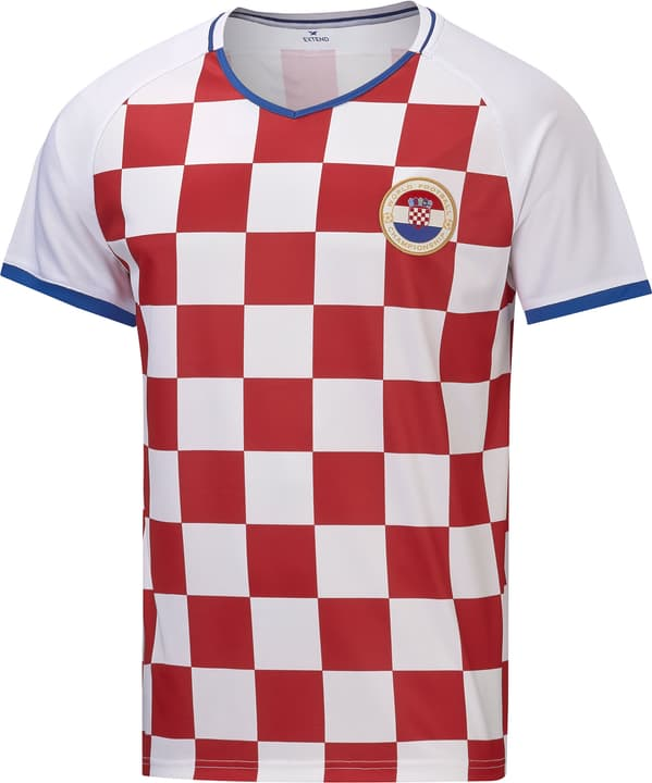 Croatie Maillot de supporter de football Extend 498284000330 Couleur rouge Taille S Photo no. 1