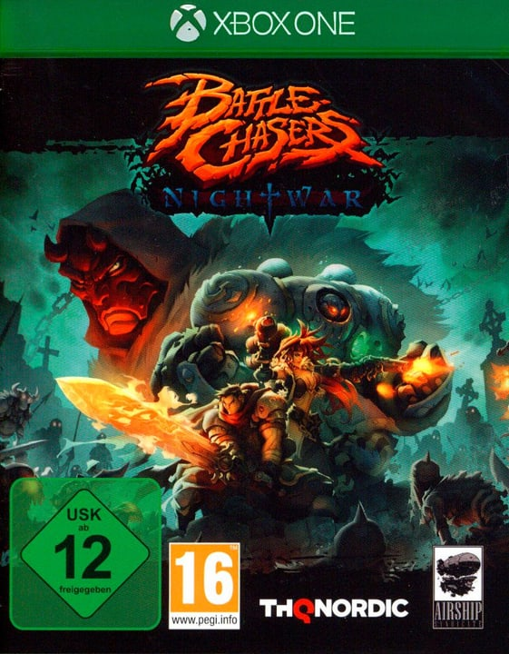 Xbox One - Battle Chasers: Nightwar Box 785300128896 Photo no. 1