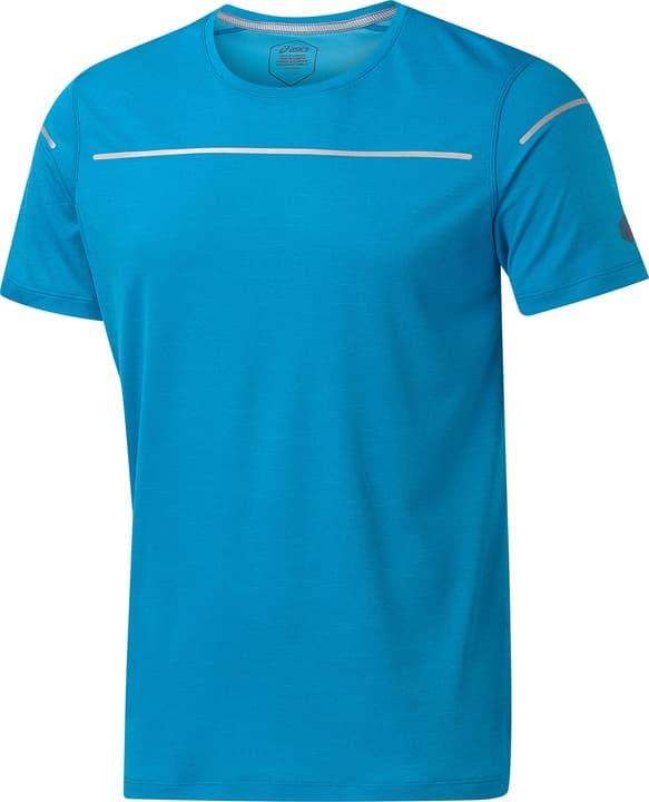 LITE-SHOW SS TOP Shirt pour homme Asics 470166700340 Couleur bleu Taille S Photo no. 1