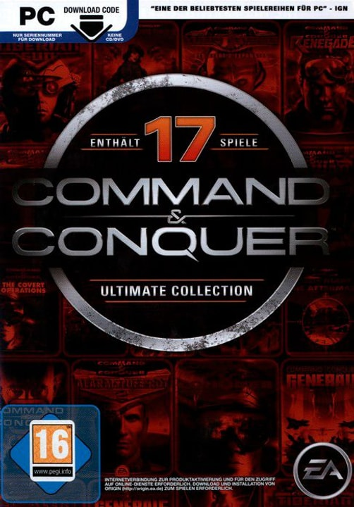 PC - Command & Conquer: Ultimate Collection 785300122163 Photo no. 1
