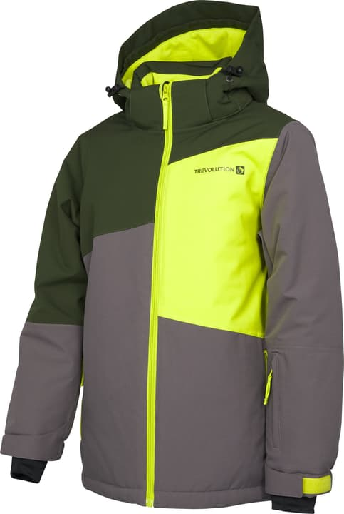 Vest de snowboard pour garçon Trevolution 466932212880 Couleur gris Taille 128 Photo no. 1
