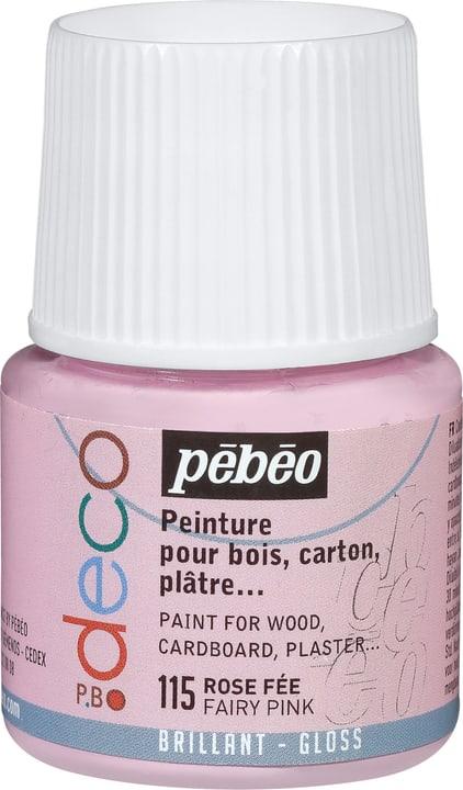 Pébéo Deco rose fée brillant Pebeo 663513000115 Photo no. 1