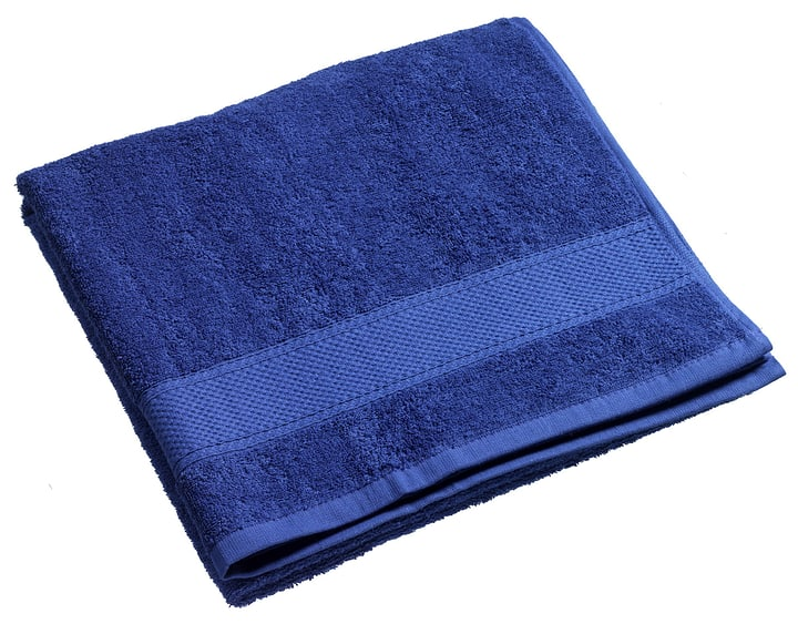 BEST PRICE Linge de douche 450845020543 Couleur Bleu foncé Dimensions L: 70.0 cm x H: 140.0 cm Photo no. 1