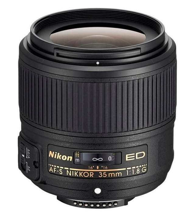 Nikkor AF-S FX 35mm f/1.8G ED Objectif Obiettivo Nikon 785300125545 N. figura 1