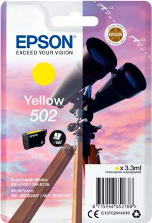 Cartouche d'encre 502 yellow Cartouche d'encre Epson 798559300000 Photo no. 1