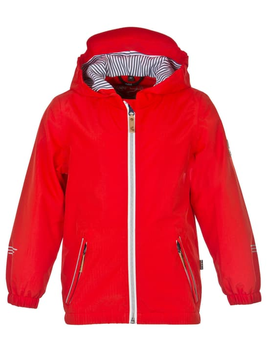 Balthazar Veste de pluie pour enfant Rukka 464592914030 Couleur rouge Taille 140 Photo no. 1