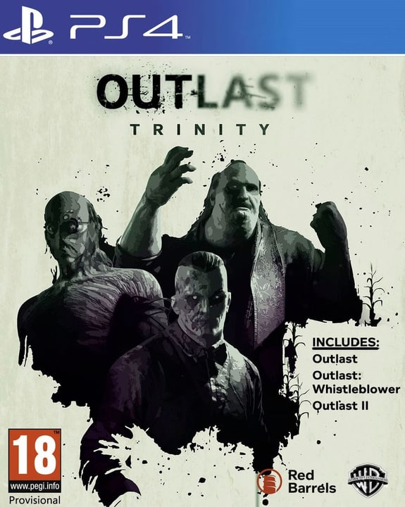 PS4 - Outlast Trinity Physique (Box) 785300122219 Photo no. 1