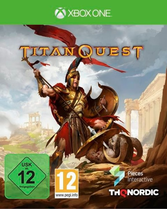 Xbox One - Titan Quest E/F Box 785300132007 N. figura 1