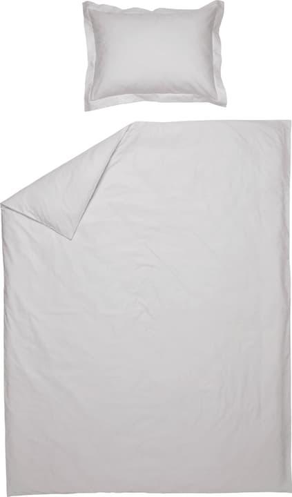 LUNA Jacquard-Kissenbezug 451287410881 Farbe Hellgrau Grösse B: 70.0 cm x H: 50.0 cm Bild Nr. 1