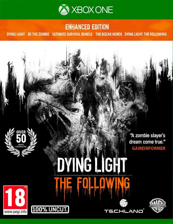 Xbox One - Dying Light: The Following Enhanced Edition Box 785300120818 Photo no. 1