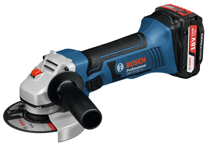 Meuleuse angulaire sans fil GWS 18LI 125 Bosch blau 616672400000 Photo no. 1