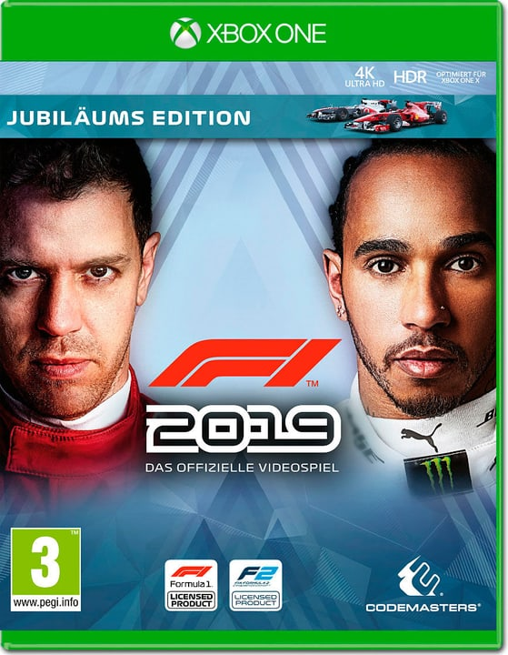 Xbox One - F1 2019 Anniversary Edition Box 785300143947 Langue Italien Plate-forme Microsoft Xbox One Photo no. 1