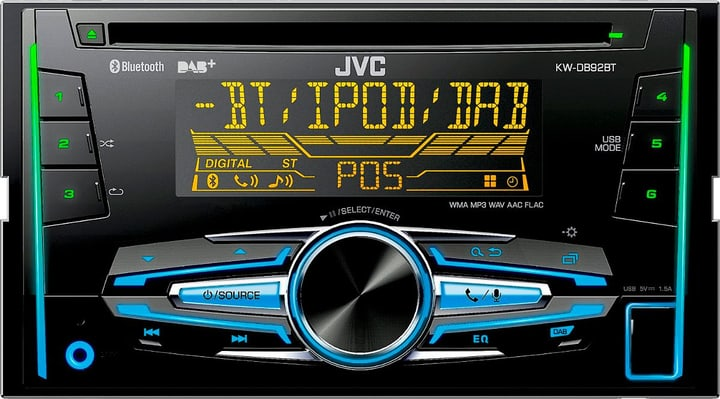 KW-DB92BTANT Autoradio JVC 785300129753 Photo no. 1