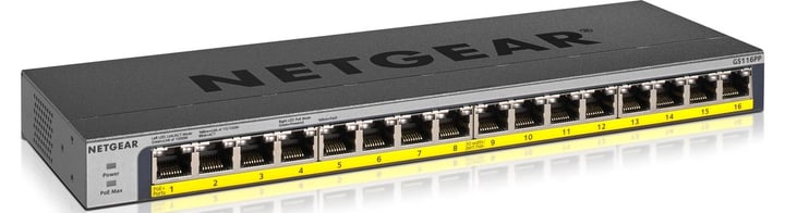 GS116PP-100EUS 16-Port LAN Gigabit Ethernet Switch Netgear 785300141157 Bild Nr. 1