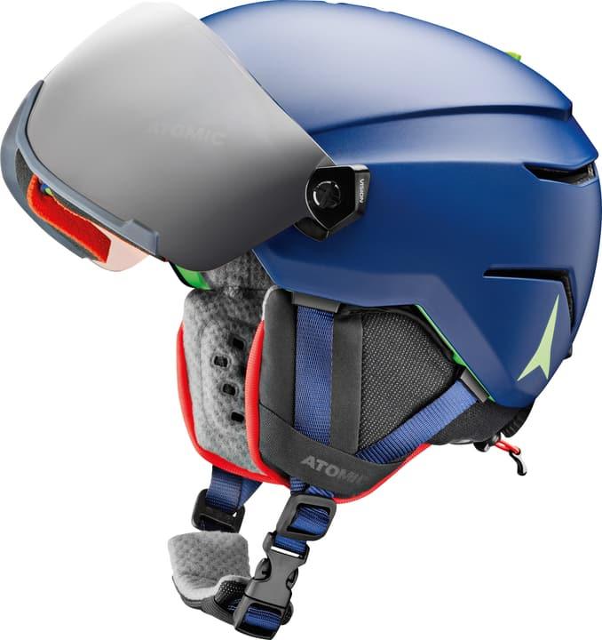 Savor Visor JR Casco per sport invernali Atomic 461898450240 Colore blu Taglie 48-52 N. figura 1