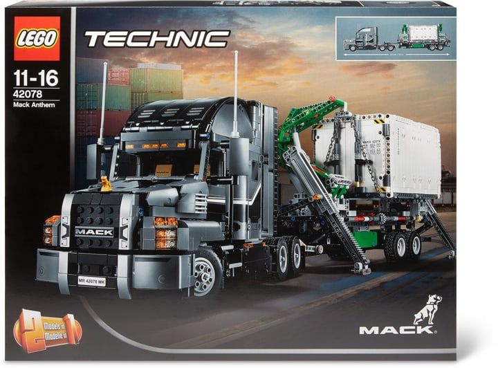 LEGO Technic Mack Anthem 42078 744546800000 Photo no. 1