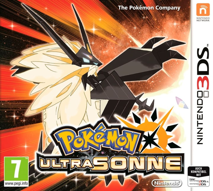 3DS - Pokémon Ultra-Soleil 785300128792 Photo no. 1