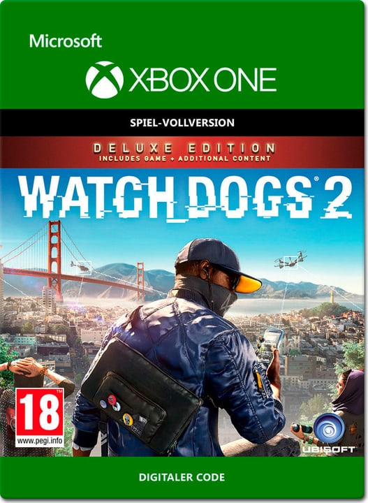 Xbox One - Watch Dogs 2 Deluxe Edition Digital (ESD) 785300137312 N. figura 1