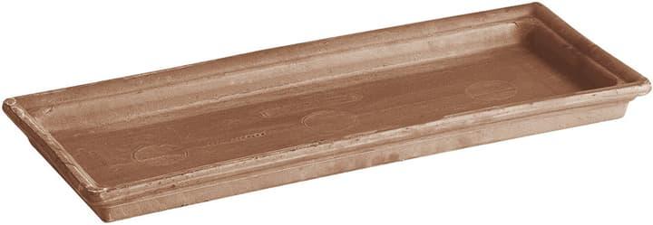 Soucoupe en argile Deroma 659532100000 Couleur Mocca Taille L: 42.5 cm x L: 21.0 cm x H: 3.8 cm Photo no. 1