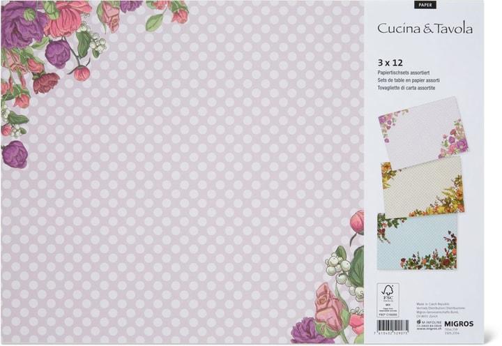 Tovagliette di carta, 30 x 42 cm Cucina & Tavola 705475900000 N. figura 1