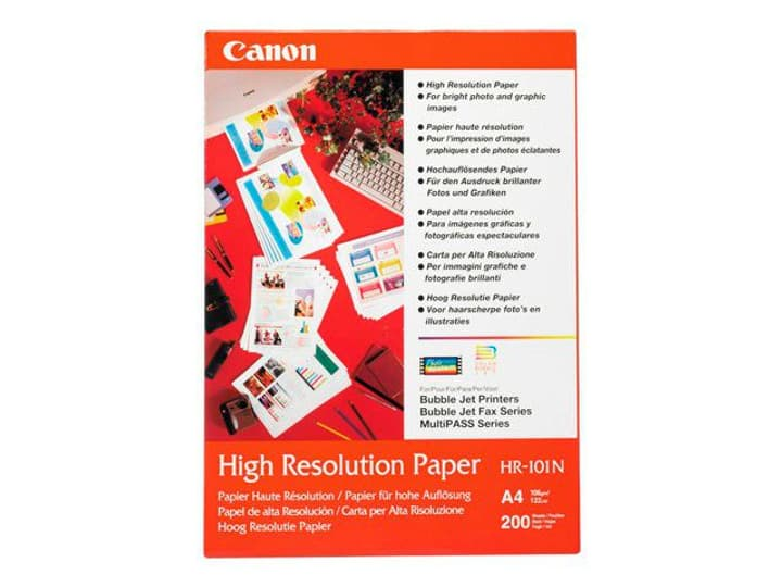 InkJet Paper High Resolution A4 105g Canon 797553900000 Bild Nr. 1