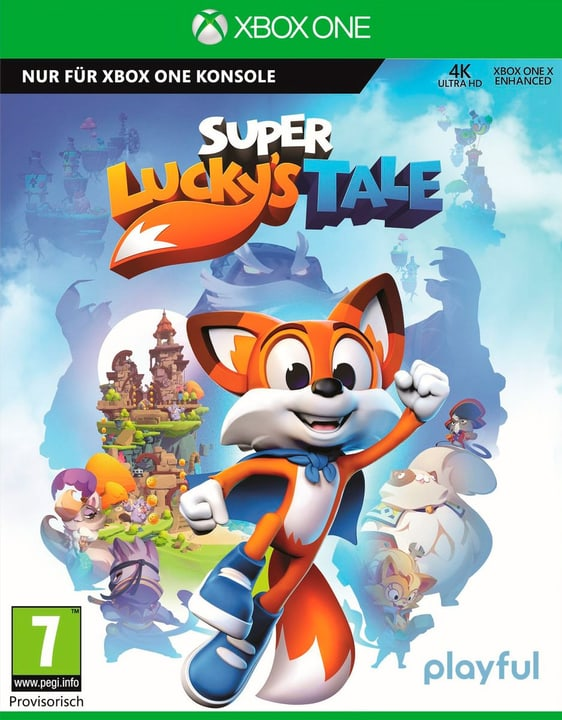 Xbox One - Super Lucky's Tale Box 785300129354 Photo no. 1
